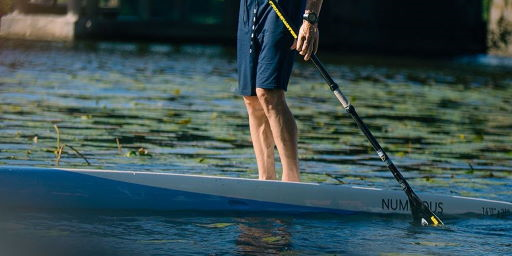 Choosing the right paddle for training and racing in SUP